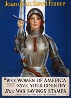 William Haskell Coffin~Joan of Arc Saved France po