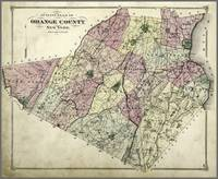 Orange County NY 1875 Old Map