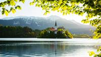 Spring colours at Lake Bled