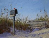 Kindred Spirit Mailbox in the Dunes at Bird Island