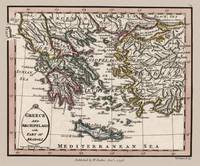 Greece Archipelago Map 1804