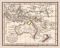 Australia and Polynesia Map 1798