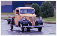 1947 Fargo pickup truck heading home