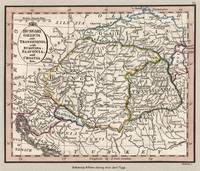 Hungary Region 1798 Map