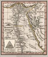 Egypt Ancient Map 1798