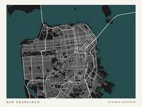 City of San Francisco Map