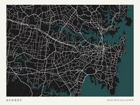 City of Sydney Map