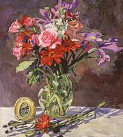 BEDROOM FLOWER STILL LIFE fa