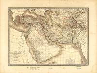 Map of the Middle East (1842)
