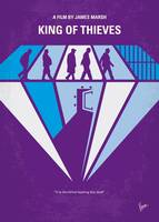 No1190 My King of Thieves minimal movie poster