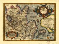 Northern Asia Map by A. Ortelius (1603)