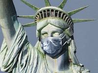 Statue Of Liberty Corona Virus