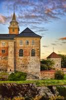Akershus At Sunset