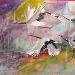 """Flight of the Tsuru"" by YaelEylatTanaka"