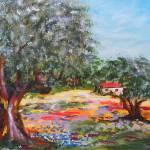 """Les Oliviers de Provence"" by YaelEylatTanaka"