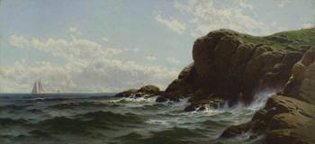 Conanicut Cliffs, Rhode Island by Alfred Thompson