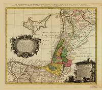 Map of Palestine (1744)