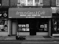 Hackensack, NJ -  Grill and Cafe 2018 BW
