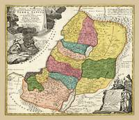 Map of Israel (1720)