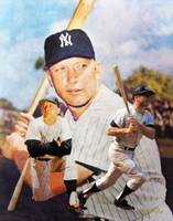 NY Yankees z Mickey Mantle ART 2510 ORIGINAL AIP A