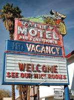 Neon Sign Valley Motel