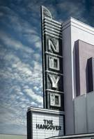 Noyo Theatre Neon Sign