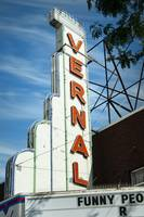 Vernal Theatre Neon Sign