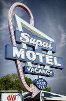 Supai Motel Neon Sign