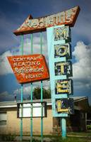 RedHills Motel Neon Sign