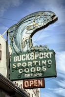 Buck Sports Neon Sign