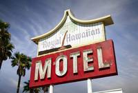 Royal Hawaiin Motel Neon Sign