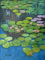 Water Lilies - Homage to Monet