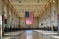 Union Station and US Flag_1-173