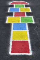 Happy Hopscotch Court