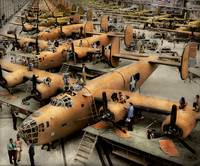 Plane - Factory - The Great Liberator 1943