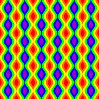 Pride Rainbow Pattern #2