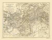 Map of Afghanistan (1878)