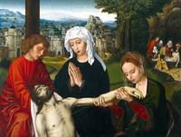 Ambrosius Benson Pietà at the Foot of the Cross