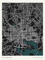 City of Baltimore Map