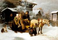 Bengt Nordenberg Leaving Home (Dalecarlian Scene)
