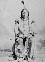 Vintage Chief Sitting Bull Native American
