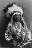 Vintage Chief Red Cloud Native American Photograph