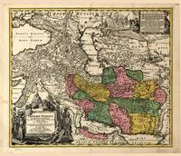 Map of Iran (1724)