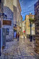 A Quiet Street In Budva