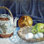 """Colored pencil still life #2"" by sboyle"