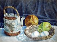 Colored pencil still life #2