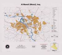 Al Mawsil (Mosul), Iraq Map (2003)
