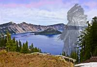 Crater Lake And Klamath Indian Chief