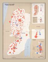 West Bank and East Jerusalem Map (1992)