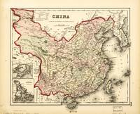 Map of China (1855)